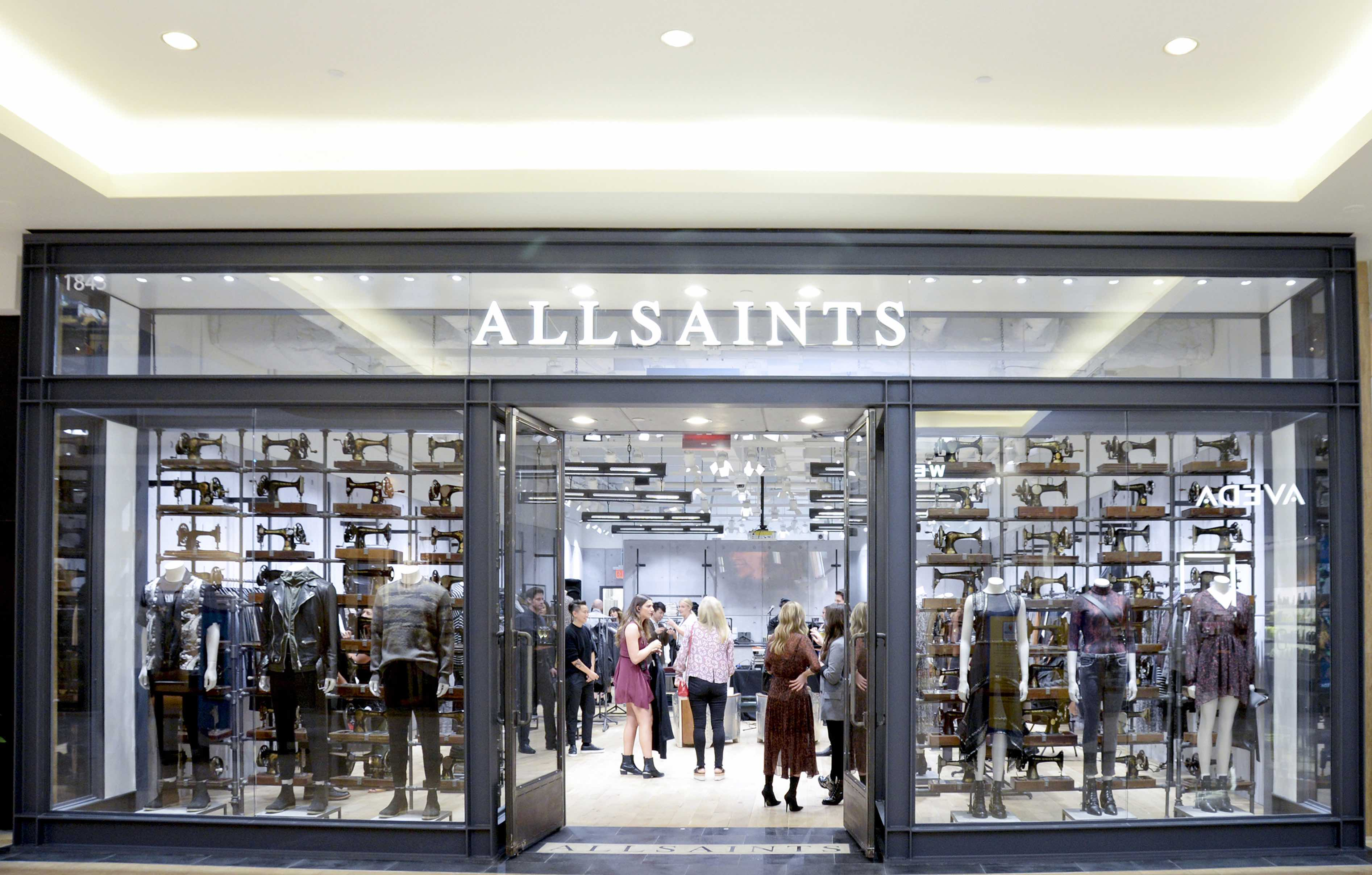0d718e941ae3 AllSaints South Coast Plaza Store Opening on September 20